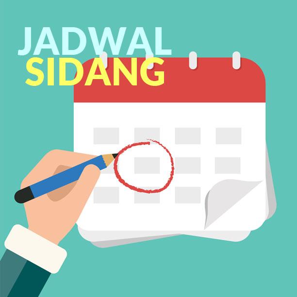 JADWAL SIDANG2