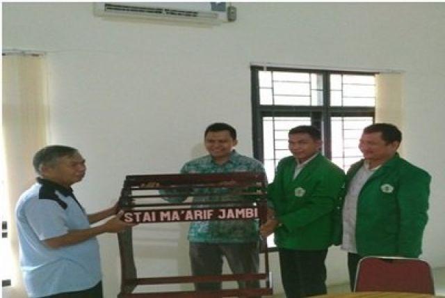 Perpisahan Mahasiswa Praktek Lapangan PPL STAI Ma'arif di PA Jambi